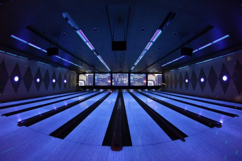 bowling pálya a választások megjelenítéséért