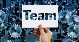 team felirat - soft skillek