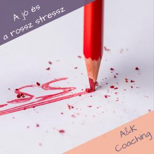 stressz szót író piros ceruza hegye kitörik